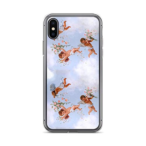 iPhone XR Pure Clear Case Cases Cover Renaissance Angels