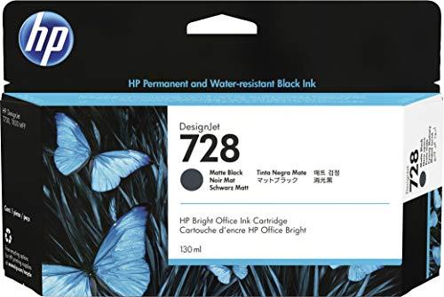 HP 3WX25A Tinte matt schwarz HP728 130 ml