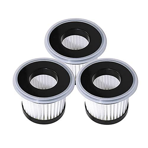 Partes de repuesto de aspiradoras 3 unids polvo ácaros HEPA filtros aptos para xiaomi para Deerma CM810 CM300SĀ 800900 Partes de aspirador Accesorios Accesorios de aspiradora