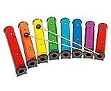 Betzold Musik 88960 - Round-Sound Tubes, 8 Stück, farbig - Klangbausteine Musik-Instrumente Kinder