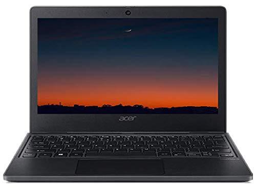 Portatile Acer TMB311 cpu N4020 7th GEN. 2 Core a 1,1 ghz, Notebook 11.6' Display HD 1366 x 768 Pixels, DDR4 4 GB, eMMC 64 GB, webcam, Wi-fi, Bt, Win 10 Pro, A/V, Gar. Italia