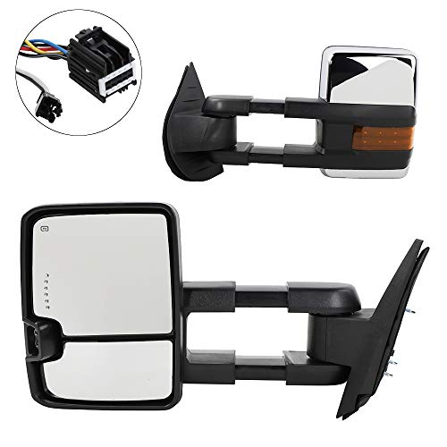 09 chevy tow mirrors - 2