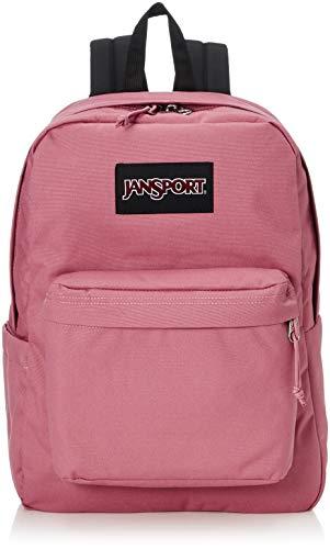 JanSport Superbreak Plus Backpack - School, Work, Travel, or Laptop Bookbag with Water Bottle Pocket, Blackberry Mousse