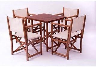 Amazon.es: sillas plegables madera - SILLAS MENORCA: Jardín