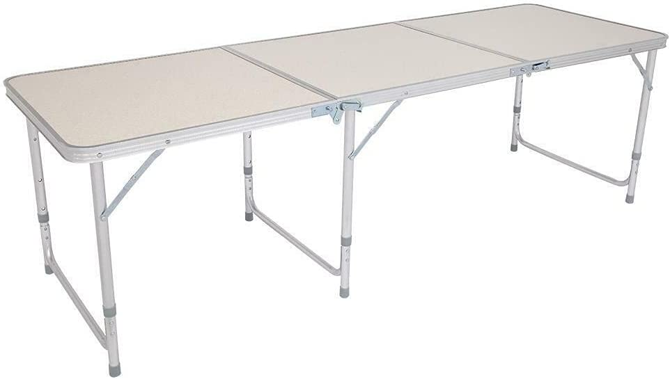 Kosoree Now free shipping Portable Now on sale Aluminum 6ft Folding Pa Picnic Outdoor Table in