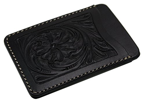 Kc,s Leather GENUINE COWHIDE PASS CASE NO.1 CRAFT Handmade In Japan Black