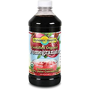 Dynamic Health 473ml 100 Percent Pure Pomegranate Juice Concentrate:Amedama