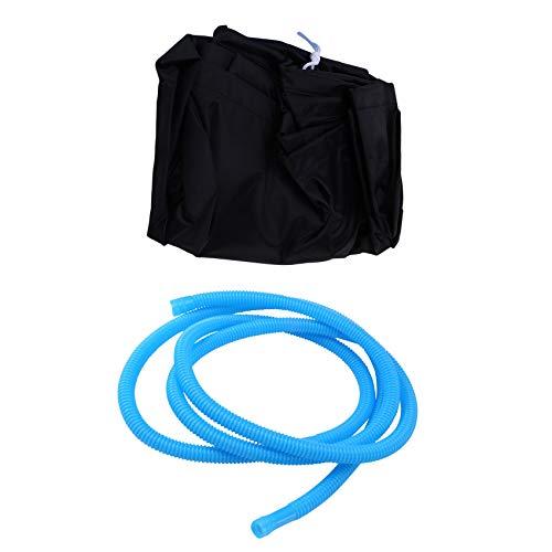 Cuasting Bolsa de limpieza para aire acondicionado de pared para sala de aire acondicionado, cubierta de lavado impermeable anti-polvo protector para 2-3P