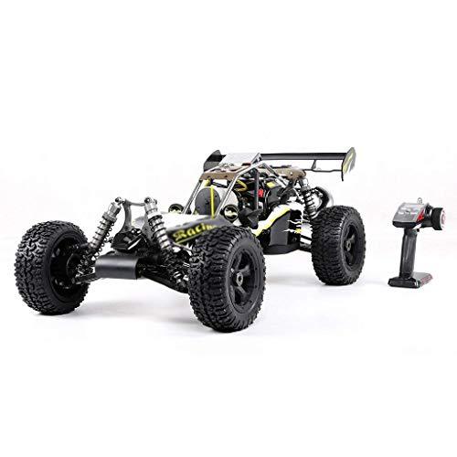 ZWWZ Eje Drive 4WD 1/5 Modelo de Control Remoto de Gasolina Modelo de automóvil Off-Road RC HAIKE ( Color : Black )