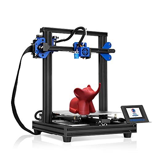 BOROCO Tronxy XY-2 PRO - Impresora 3D (24 V, 255 x 255 x 260 mm, función de apagado rápido, detección de consumo, pantalla táctil en color, enchufe europeo)