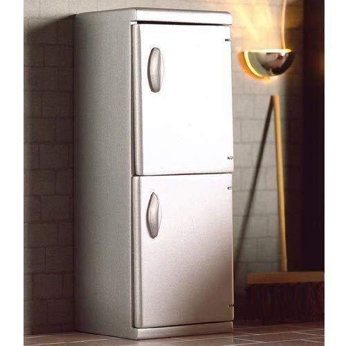 Dolls House 5173 réfrigérateur argenté Moderne Maison de poupée