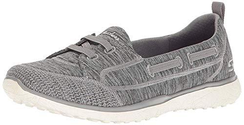 Skechers Sport Women's Microburst Topnotch Fashion Sneaker,grey,9 M US