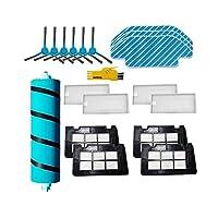 ロボット掃除機部品 ロボット交換部品交換部品HEPAフィルターフィットCecotec Conga 5490ロボット掃除機メインブラシサイドブラシフィルターモップ布アクセサリー (Color : 8 pcs)