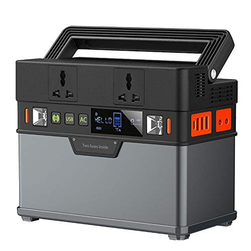 GNY Cargador Solar 110V 220V CA Power Station Pure Sine Wave Generador portátil Powering Coche Refrigerador TV Drone Portátiles (Color : US Plug)