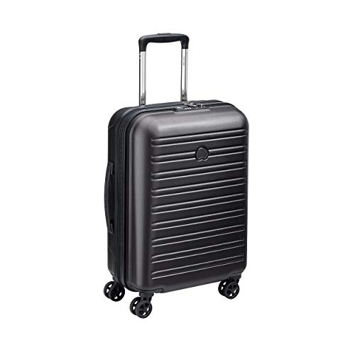 Delsey Paris SEGUR 2.0 Koffer, 55 cm, 36.2999999999999 liters, Schwarz (black)