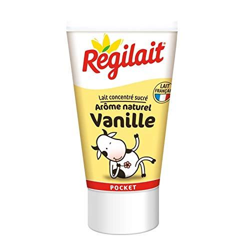 REGILAIT - Lait Concentré Sucré Vanille 60G - Lot De 4