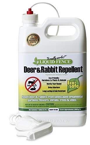 Liquid Fence 109 Ready-to-Use Deer and Rabbit Repellent 1...