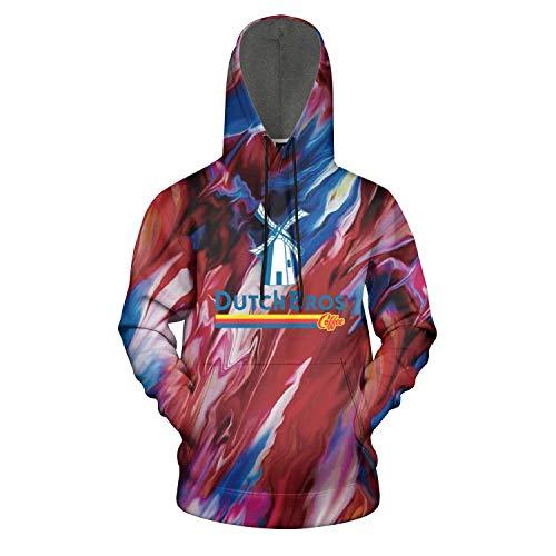 Dutch-Bros-Coffee-Logo- Sweatshirts for Mens's Comfort Shirt Sweatshirt Loose Hoodie