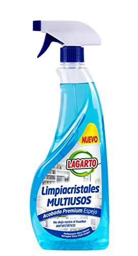Lagarto Limpiacristales - Multiusos - Paquete de 10 x 750 ml - Total: 7500 ml