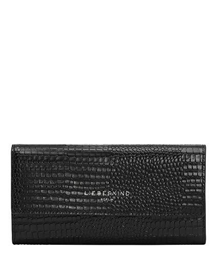 Liebeskind Berlin Meryl Talia Geldbörse, Large (9.5 cm x 17.5 cm x 1.7cm), black
