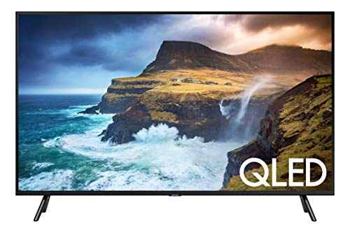 Samsung 85' Class 4K Ultra HD (2160p) HDR Smart QLED TV QN85Q70R (2019 Model) (QN85Q70RAFXZA), Slate Black