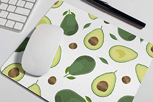 Avocado Mouse Pad Cute Red Mousepad Womens Desk Accessories Office Supplies Cute Avo Funny Gift for Coworker Boss A613
