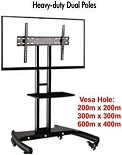 Royal Look LED/LCD TV Full Motion Floor Mount/Pedestal Stand(100% Made of Metal)