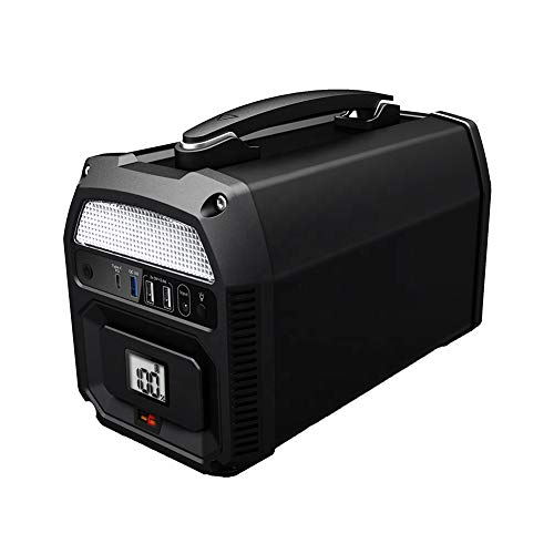 ZYRAY Portable Solar Generator 500W Lithium ion Power Supply Connector Energy Storage Power Station with Supply Socket