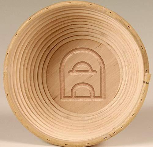 Holzbackofen-Welt Premiumqualität Brotformen Gravur Ofen Gärkörb Brotkorb Brotform Peddigrohrform