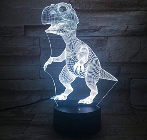 3D-lamp binnen-touch sensor tamelijk kleurrijk met afstandsbediening LED-nachtlampje decoratieve 3D-look