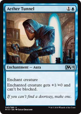 Magic: The Gathering - Aether Tunnel - Core Set 2019