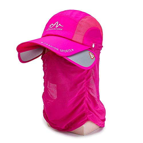 FASDFE Zonnehoed zonnebrandcrème kap kap gezicht cap nek outdoor vouwfiets cap voor toerisme bergbeklimmen winkelen vissen