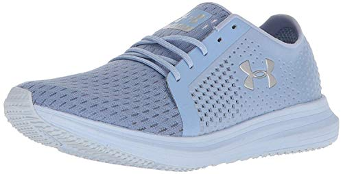 Under Armour Women's Sway Running Shoe, Chambray Blue (400)/Oxford Blue, 5.5