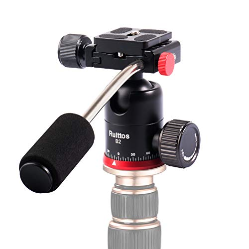 Tripod Ball Head, Ruittos Pan Head Camera Mount with Quick Release...