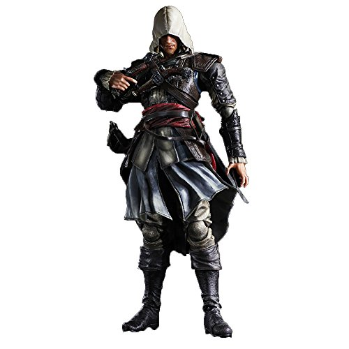 Assassins Creed IV Play Arts Kai Edward Kenway Action Figure