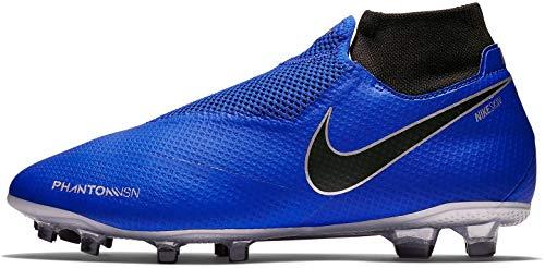 Nike Herren AO3266 Fußballschuhe, Blau (Racer Blue/Black-Metallic Silv 400), 40.5 EU