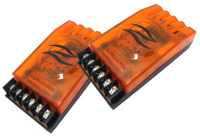 ALPHASONIK PCZXO - 2-Way Passive Car Audio 12dB/Octave Crossovers Compatible with All Car Audio Component Systems. Made, Sold in Pairs.