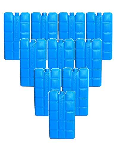 10 x DKB Kühlakku blau 200 gr pro Stück 10er Set Kühlakkus