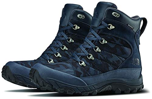 The North Face Men's Chilkat Nylon Boot, Urban Navy/TNF Black Woodland Camo Print, 10.5 D