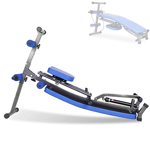 CARACHOME Rowing Machines for Home Use, Multi-Function Combination of Supine Board And Rowing Machine...
