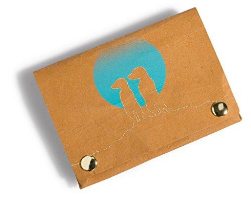 NICI 41443 Erdmännchen Geldbeutel, Farbe: Braun, 11 x 8 cm