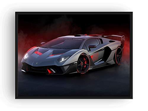 Mile High Media Lamborghini SC18 Poster, Landschaft, 33 x 48 cm