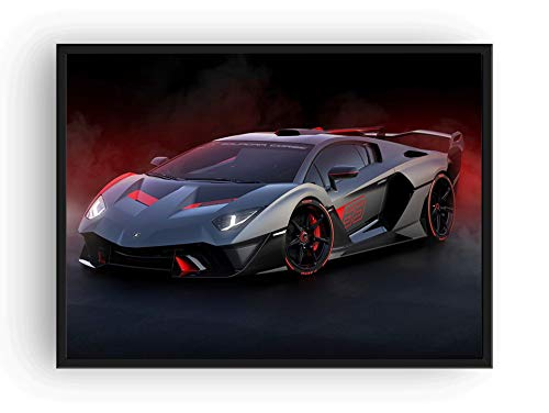 Mile High Media Lamborghini SC18 Poster, Landschaft, 33 x 48 cm