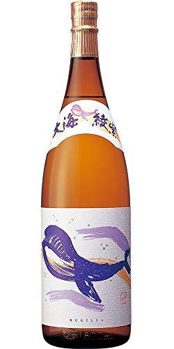 大海酒造『くじらのボトル 綾紫白麹』