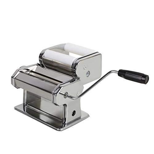 Liapianyun Pasta Mia Nudelmaschine Aus Edelstahl,Für Hausgemachte Maker Italienische Pasta Nudel Maschine,Silber