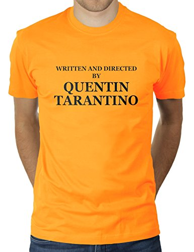 KaterLikoli Written and Directed by Quentin Tarantino - Camiseta para hombre