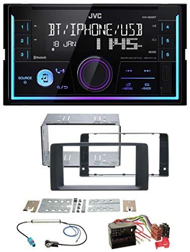 caraudio24 JVC KW-X830BT AUX 2DIN USB MP3 Bluetooth Autoradio für Man TGX (ab 2007)