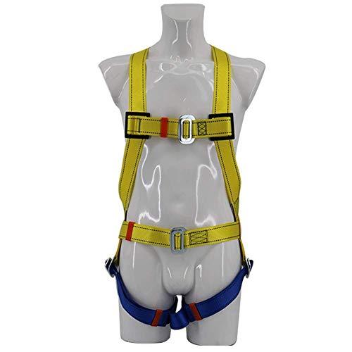 MYXMY Imbracatura per Imbracatura all'aperto Imbracatura per Cinture di Sicurezza a metà Corpo per Alpinismo, Arrampicata su Roccia, Soccorso antincendio