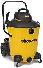 Shop-Vac 5951400 6.5 Peak hp 湿/干式真空 14 加仑黄/黑色带锁软管、工具存储和多功能配件、U 型滤芯和类型 F 型过滤袋