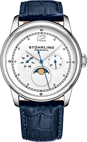 Stuhrling Original Mens MoonPhase Dress Watch -...